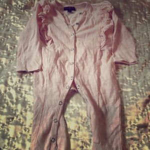 7 for all mankind girls sleeper 3/6 months